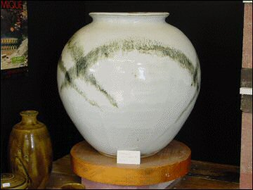 Large pot by Peter Swanson