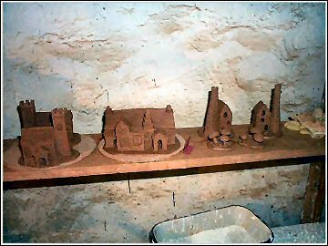 St Nectan's Pottery - work in progress
